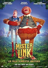 "Movie poster for ""MISSING LINK"""