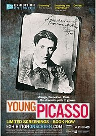 "Movie poster for ""YOUNG PICASSO"""
