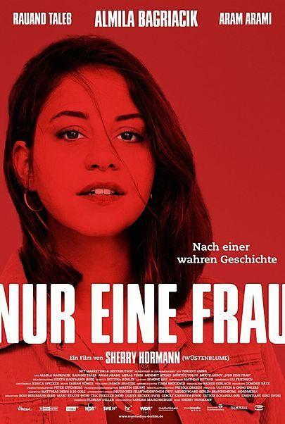"""Filmplakat für """"Nur eine Frau"""""""