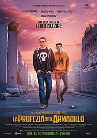 """Movie poster for """"LA PROFEZIA DELL'ARMADILLO"""""""