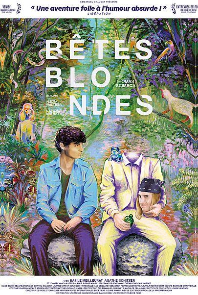"""Affiche du film """"BETES BLONDES"""""""