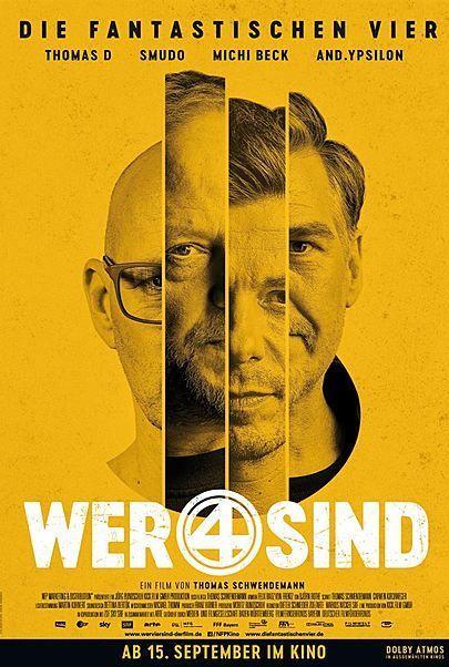"""Filmplakat für """"WER VIER SIND"""""""