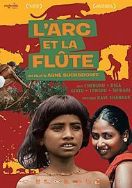 "Movie poster for ""THE FLUTE AND THE ARROW"""