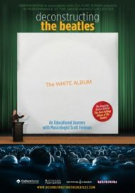 """Movie poster for """"DECONSTRUCTING THE BEATLES: THE WHITE ALBUM"""""""