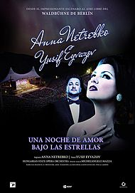 "Movie poster for ""A NIGHT OF LOVE WITH ANNA NETREBKO & YUSIF EYVAZOV"""