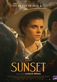 "Movie poster for ""SUNSET"""