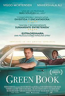 "Movie poster for ""GREEN BOOK"""