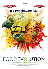 "Movie poster for ""FOOD EVOLUTION"""