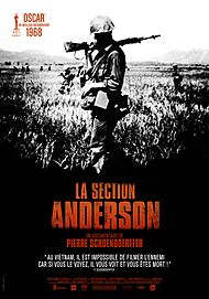 """Movie poster for """"THE ANDERSON PLATOON"""""""