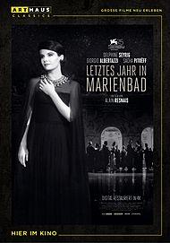 """Movie poster for """"L' année dernière à Marienbad"""""""