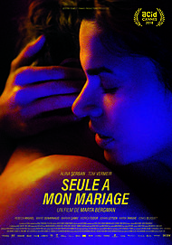 """Affiche du film """"SEULE A MON MARIAGE"""""""