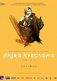 "Movie poster for ""YOJIMBO"""