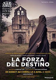 "Movie poster for ""LA FORZA DEL DESTINO (ROYAL OPERA HOUSE)"""