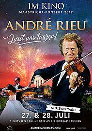 """Filmplakat für """"André Rieus Maastricht-Konzert 2019 – """"Lasst uns tanzen!"""""""""""