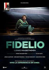 "Movie poster for ""FIDELIO. LUDWIG VAN BEETHOVEN"""