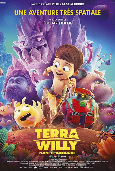 """Movie poster for """"TERRA WILLY"""""""