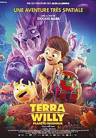 """Affiche du film """"TERRA WILLY, PLANETE INCONNUE"""""""