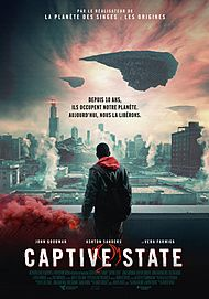 "Movie poster for ""CAPTIVE STATE"""