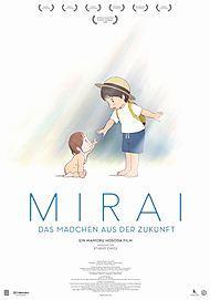 """Filmplakat für """"Mirai - Das Mädchen aus der Zukunft"""""""