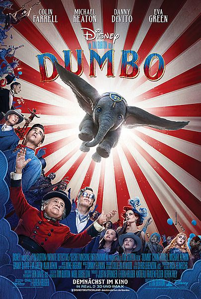 "Movie poster for ""DUMBO"""
