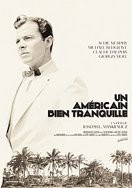 "Movie poster for ""THE QUIET AMERICAN"""