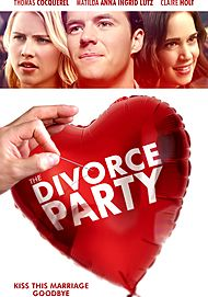 "Movie poster for ""THE DIVORCE PARTY"""