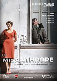 "Movie poster for ""LE MISANTHROPE 2018 (PATHE LIVE/COMEDIE FRANCAISE)"""