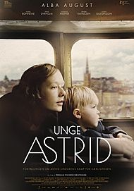 "Movie poster for ""UNGE ASTRID"""