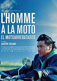 """Affiche du film """"L'HOMME A LA MOTO"""""""