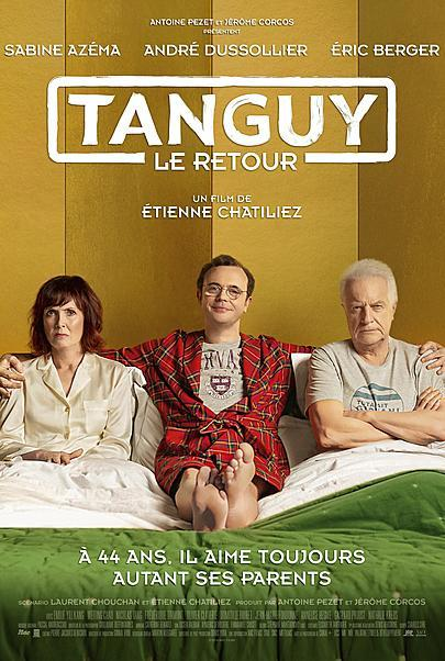 """Movie poster for """"TANGUY, IS BACK"""""""