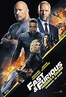 """Movie poster for """"FAST & FURIOUS : HOBBS & SHAW"""""""