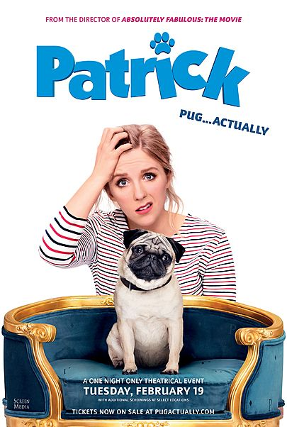 "Movie poster for ""PATRICK"""