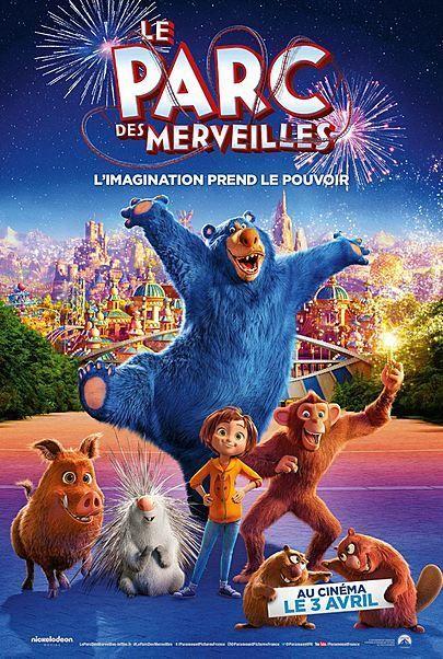 """Movie poster for """"WONDER PARK"""""""