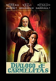 "Movie poster for ""LE DIALOGUE DES CARMELITES"""