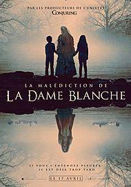 "Movie poster for ""THE CURSE OF LA LLORONA"""