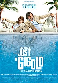 "Movie poster for ""JUST A GIGOLO"""