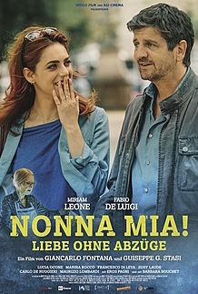 "Movie poster for ""Metti la nonna in freezer"""