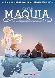"Movie poster for ""MAQUIA: WHEN THE PROMISED FLOWER BLOOMS"""