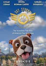 """Movie poster for """"SGT. STUBBY : AN AMERICAN HERO"""""""
