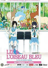 """Movie poster for """"LIZ AND THE BLUE BIRD"""""""