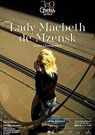 "Movie poster for ""LADY MACBETH OF MTSENSK (OPERA DE PARIS - FRA CINEMA)"""