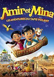 """Affiche du film """"Amir et Mina : Les aventures du tapis volant"""""""