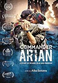 "Movie poster for ""COMANDANTE ARIAN"""