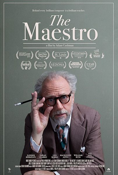 """Movie poster for """"THE MAESTRO"""""""