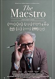 "Movie poster for ""THE MAESTRO"""
