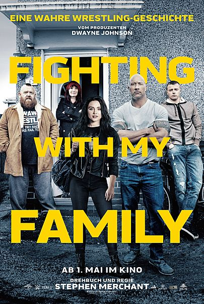 "Filmplakat für ""FIGHTING WITH MY FAMILY"""