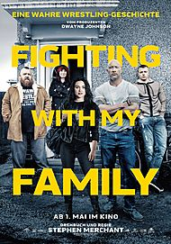 "Movie poster for ""FIGHTING WITH MY FAMILY"""