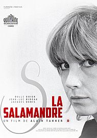 """Movie poster for """"THE SALAMANDER"""""""