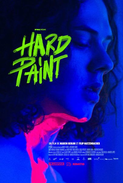 "Movie poster for ""HARD PAINT"""