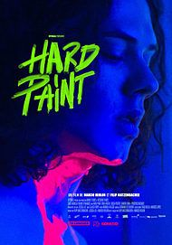 """Movie poster for """"HARD PAINT"""""""